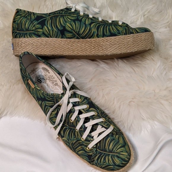 Keds x Rifle Paper Co. Palm Sneakers, 9.5